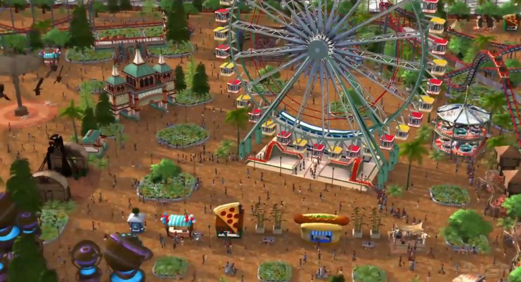 RollerCoaster Tycoon World Release Date